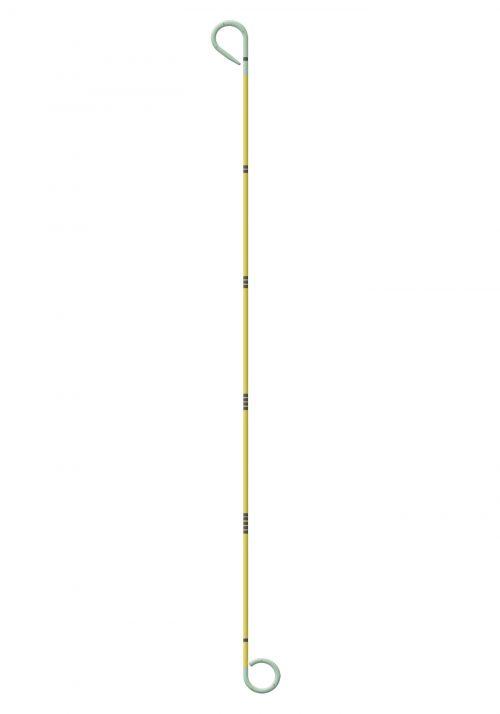 YELLOW-STAR TUMOR-STENT steuerbar mit Quetschkupplung