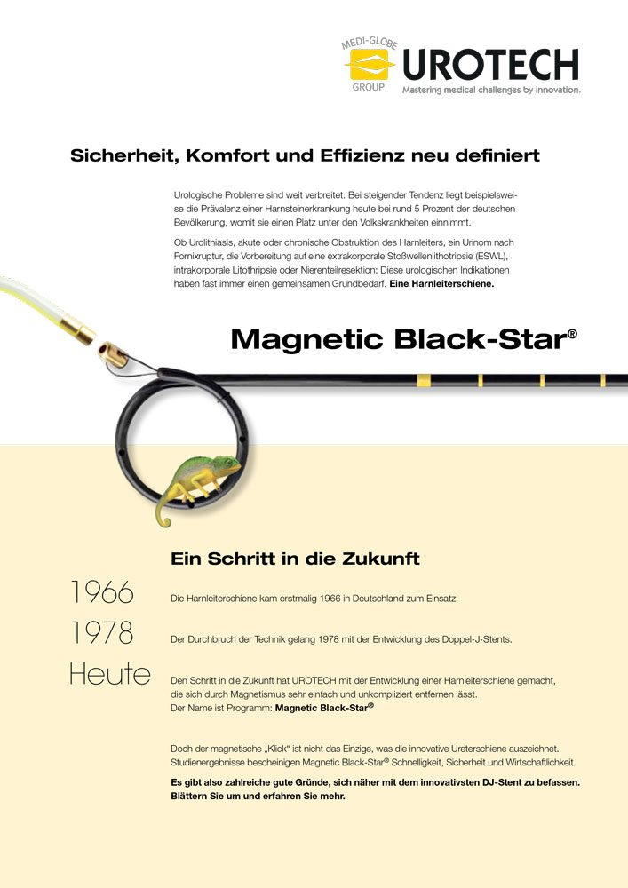 MAGNETIC BLACK STAR in der Anwendung