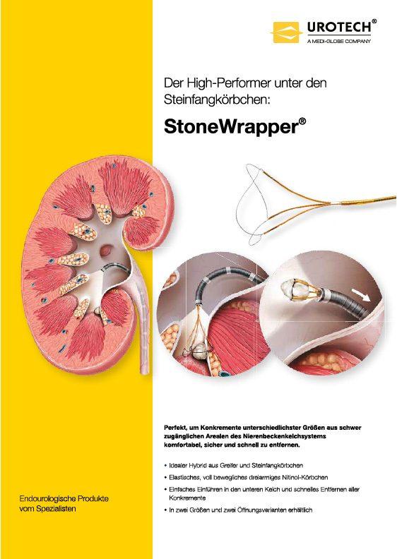 StoneWrapper Flyer DE